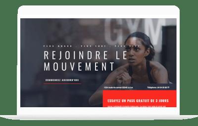 fitness by totum orbem création de site internet