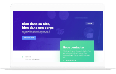 sante by totum orbem creation de site internet
