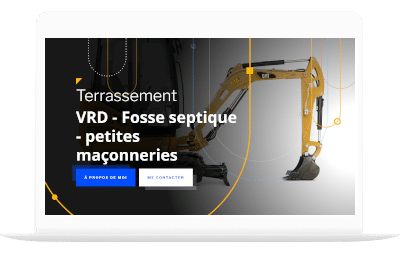 terrassement by totum orbem creation de site internet